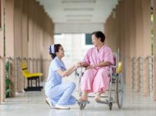 病院でのリハビリ